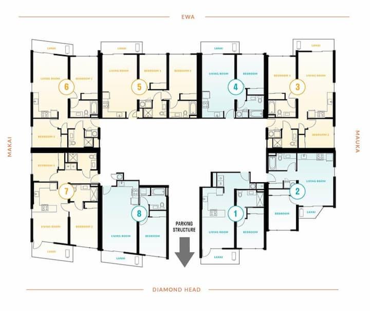 Ililani lower level floor plate