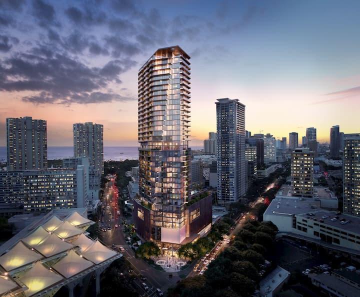 Mandarin Oriental exterior building