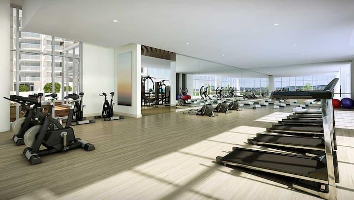 Sky Ala Moana fitness area