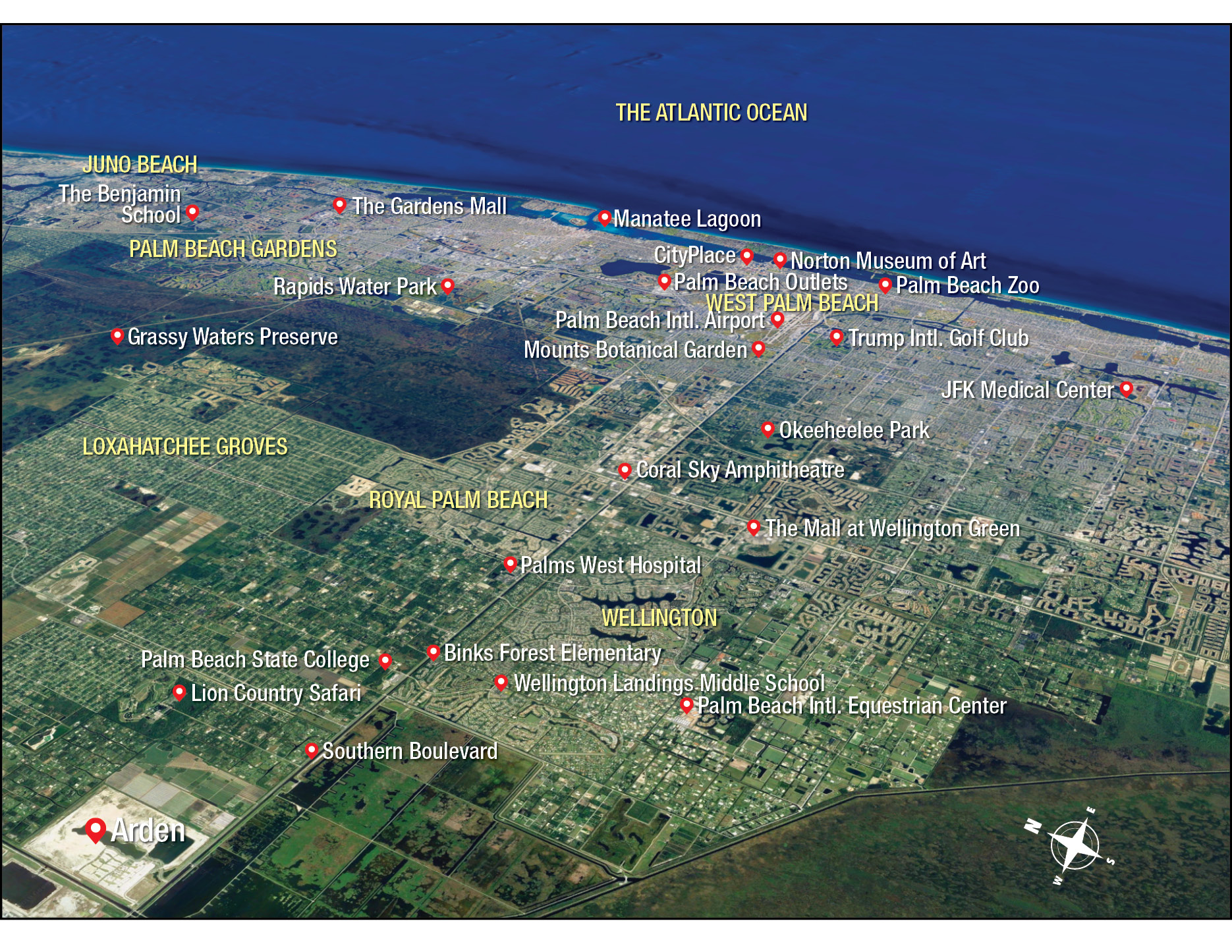 Arden Map