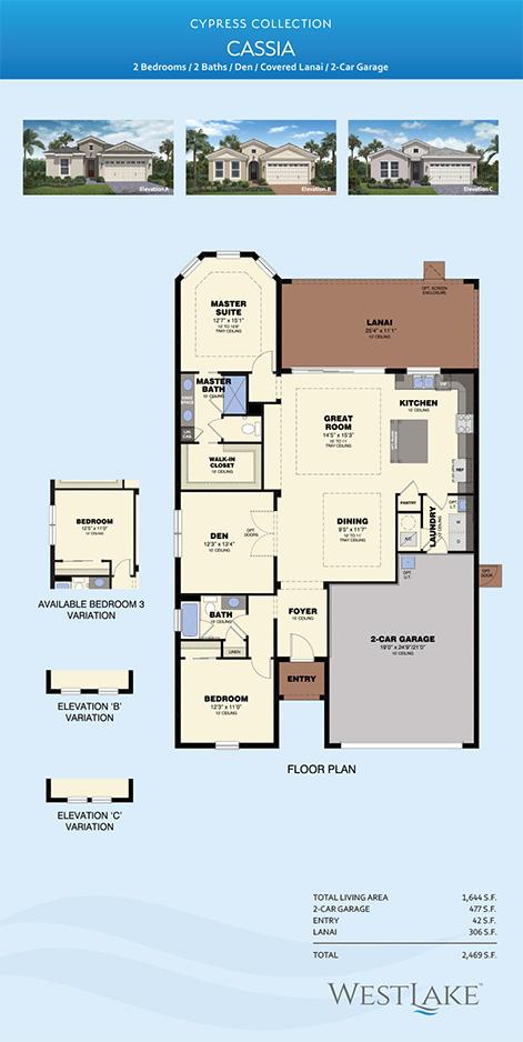 Westlake Cassia Floor Plan