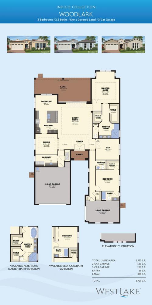 Westlake Woodlark floor plan