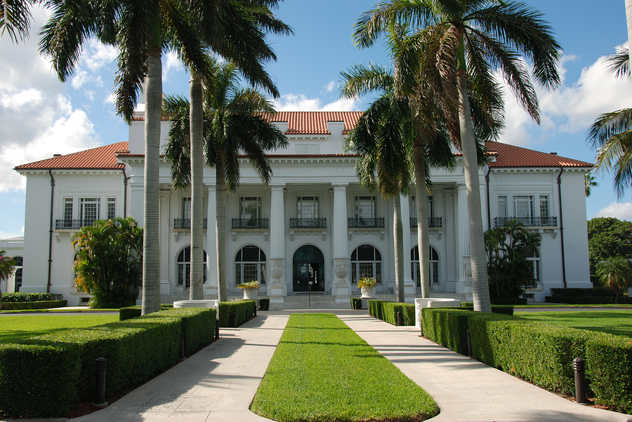 See the lovely Palm Beach home at the Flagler Museum.