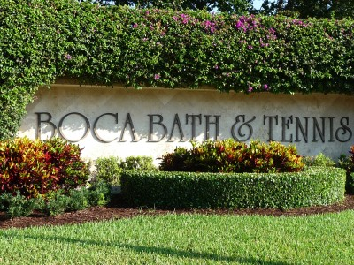 Enjoy community in Boca Bath & Tennis Homes for Sale