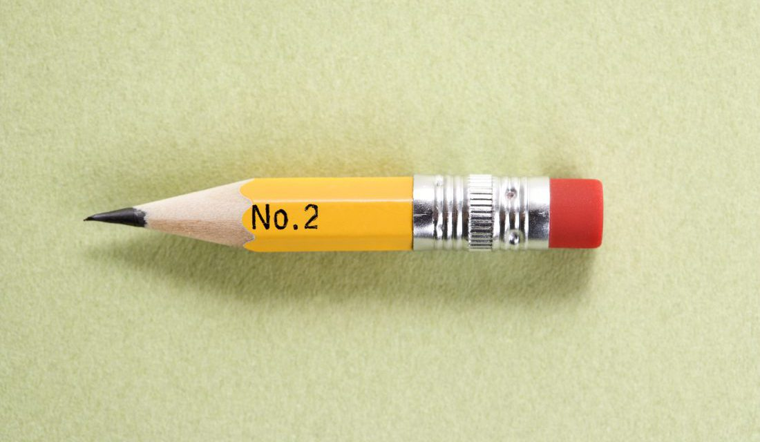 number 2 pencil
