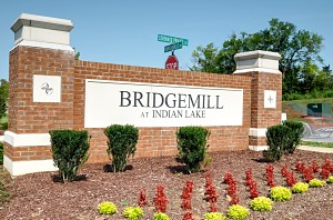 Entrance to Bridgemill at Indian Lake - Hendersonville TN
