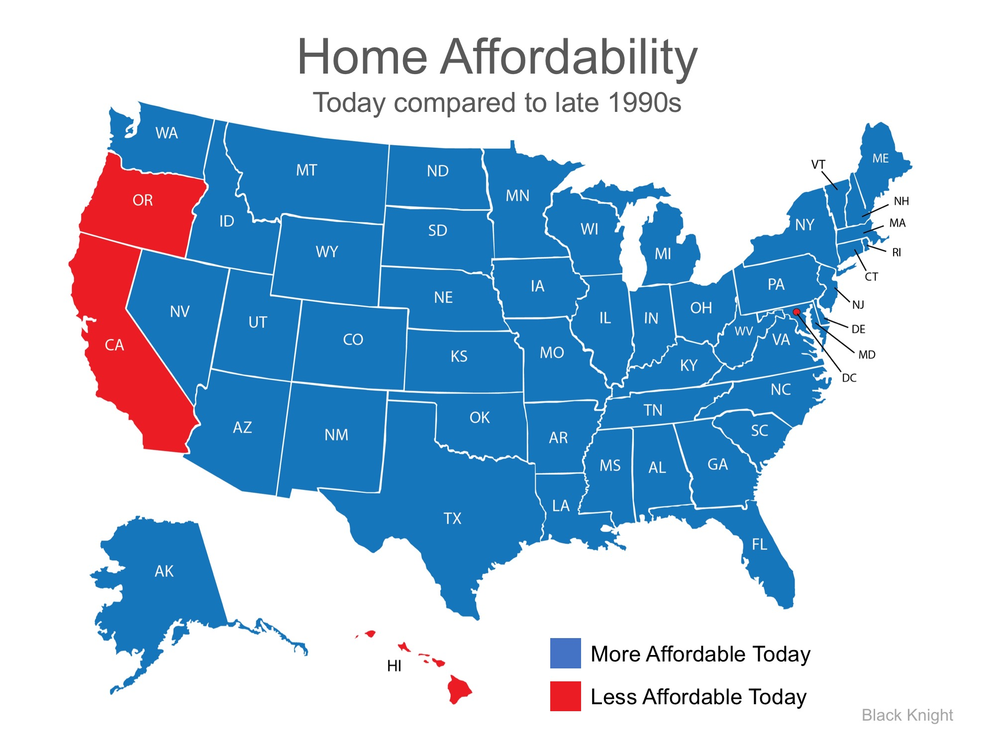 Map of Affordability