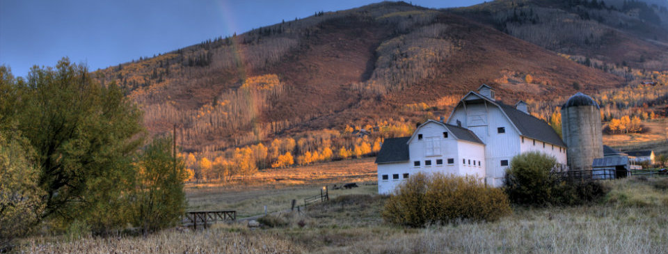 Park City Barn Fall