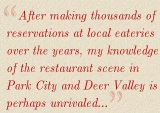 Park City Concierge Quote