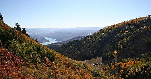 View of Jordanelle Reservoir From Bald Eagle