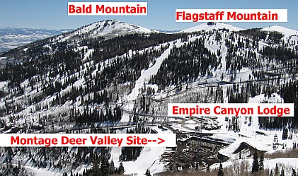 Montage Deer Valley Location