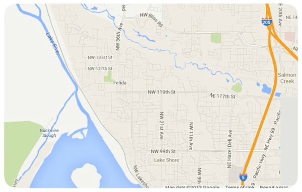 Felida Area Home Map Search