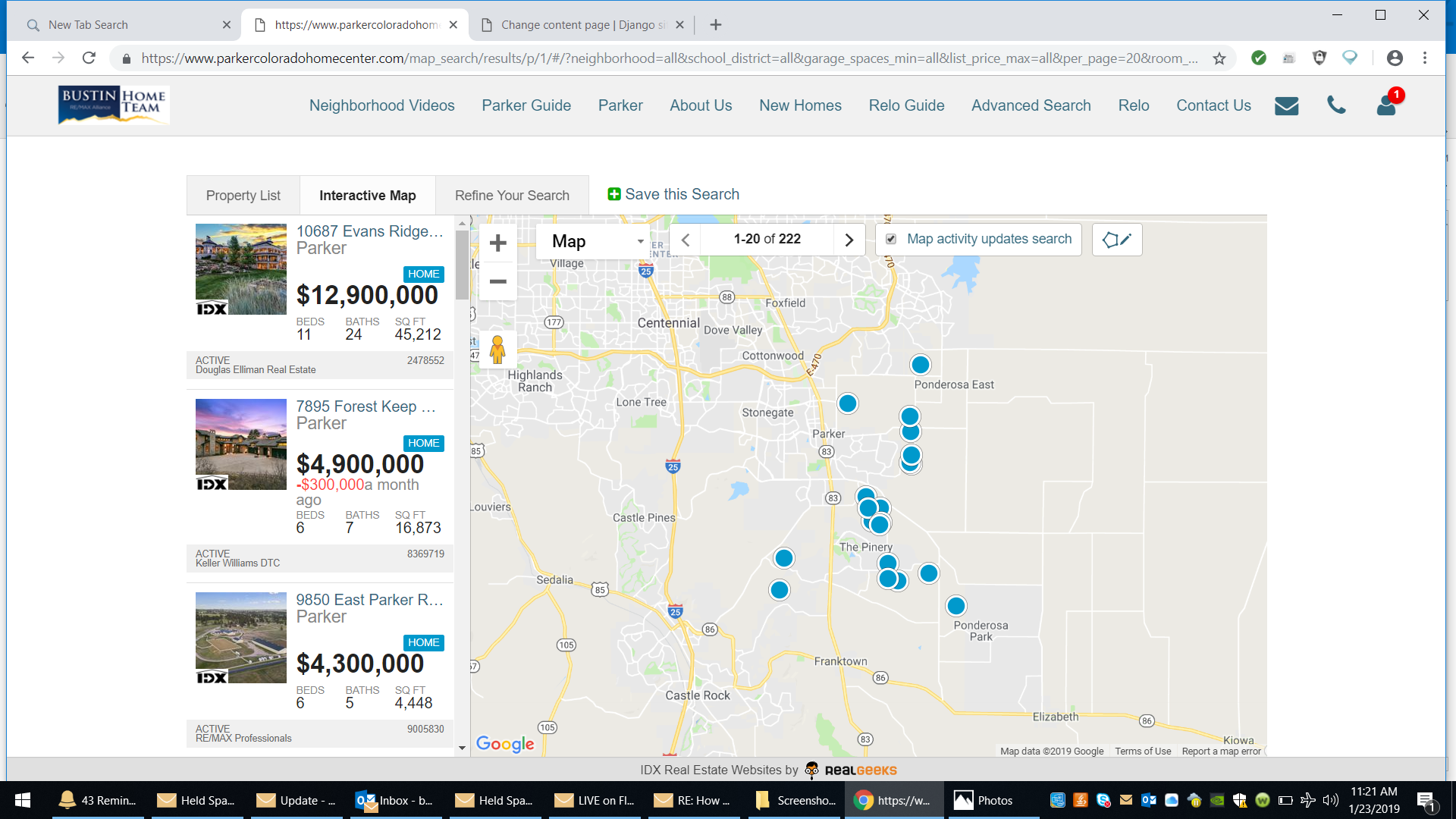 Click Here To Search Parker Colorado Homes For Sale With Our Interactive Map Search
