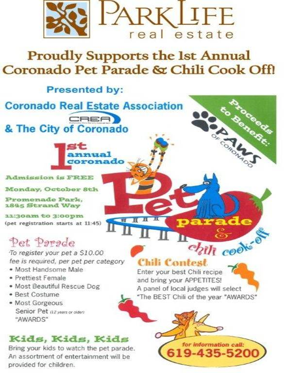 Pet Parade & Chili Cook Off!