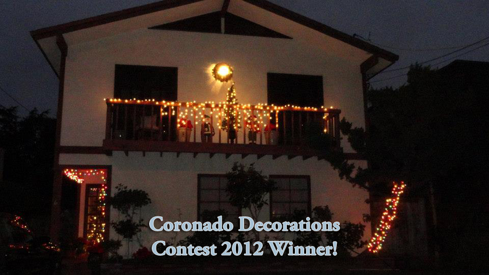 2012 Coronado Decorations Contest Winner