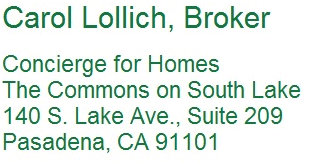 Carol Lollich, Concierge for Homes, address