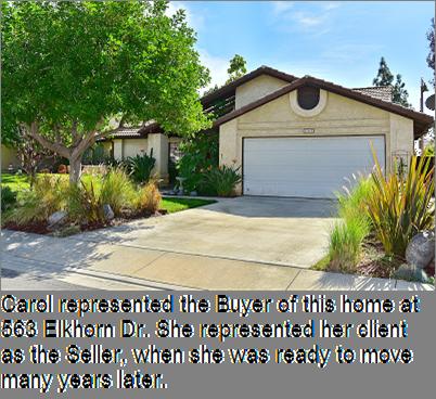Carol sold 563 Elkhorn Drive, Duarte, California