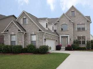 Carmel Indiana Claybourne Estates neighborhood