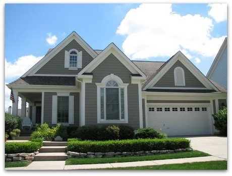Carmel indiana maintenance free homes overture House builders in indiana