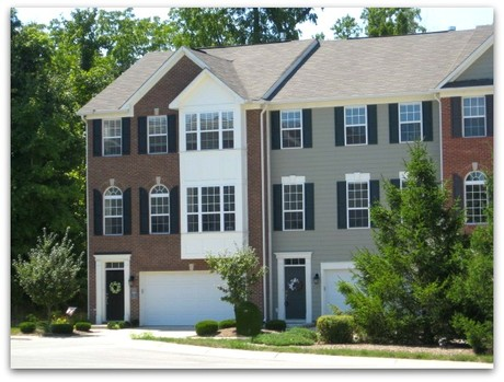 Princeton Woods townhomes, Fishers Indiana