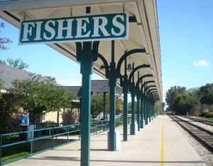 Fishers Train Station