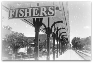 Fishers Indiana Train Station