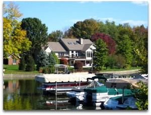 Fishers Waterfront Homes on Geist
