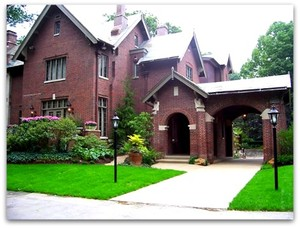 Indiana Governors Mansion on Meridian Street