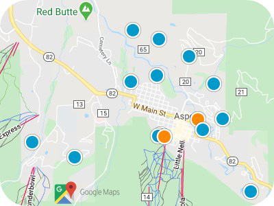 Aspen & Snowmass Real Estate Map Search
