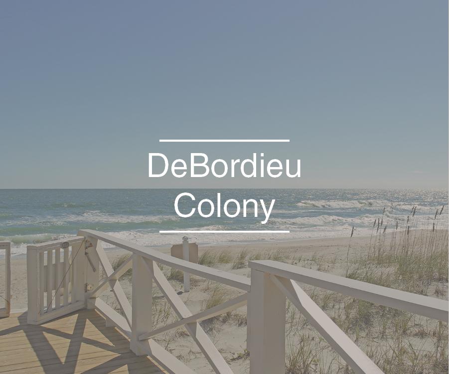 debordieu colony area real estate