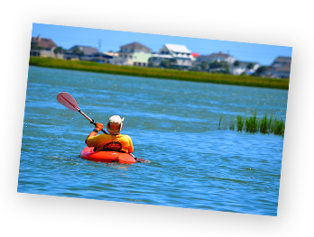 pawleys island kayaking