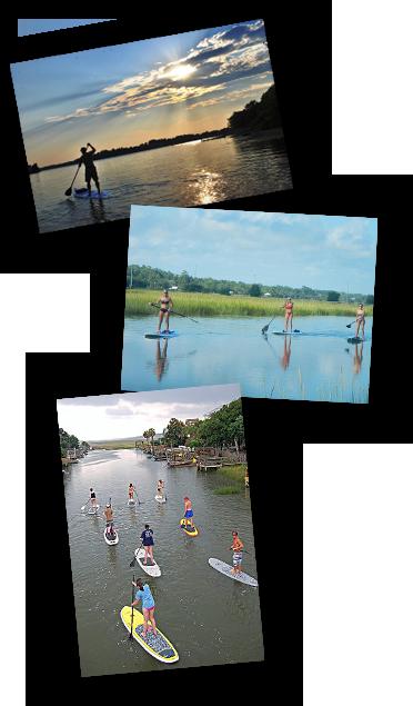 pawleys island paddleboarding