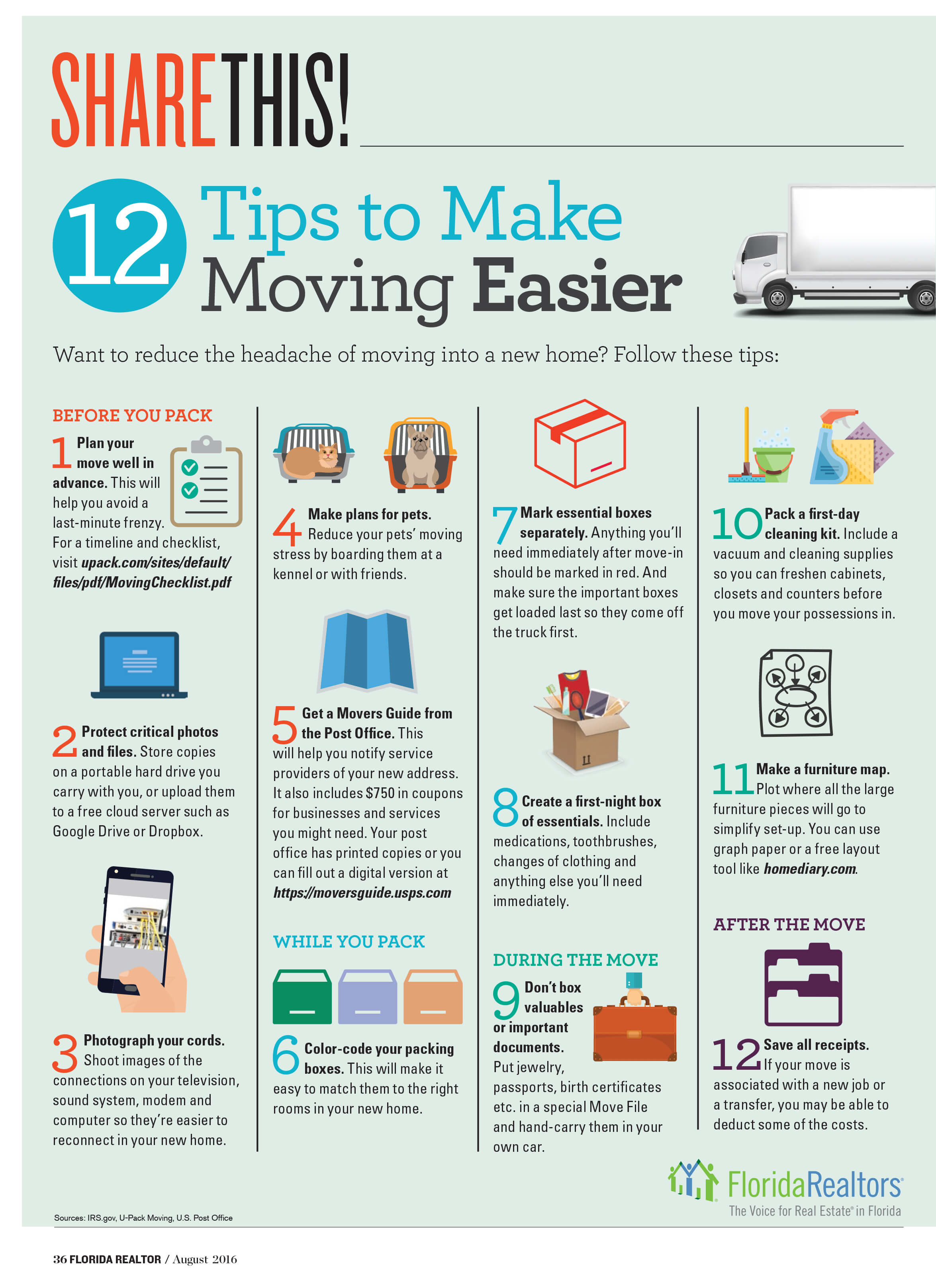 12 Tips to Moving