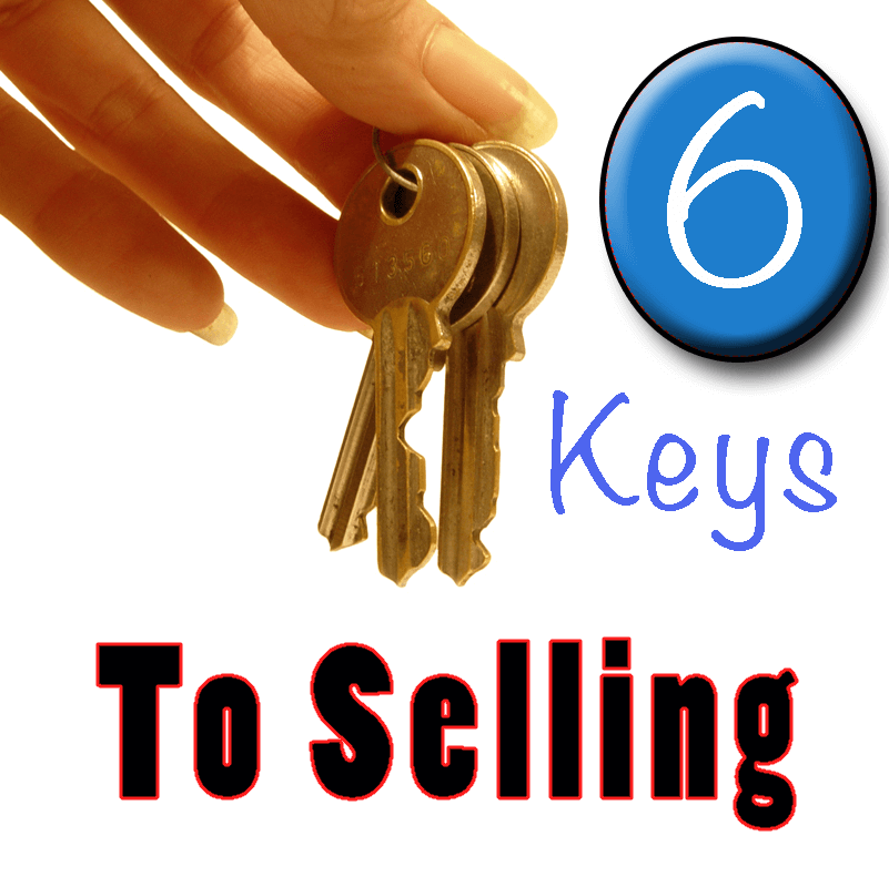 6 Keys to selling your home