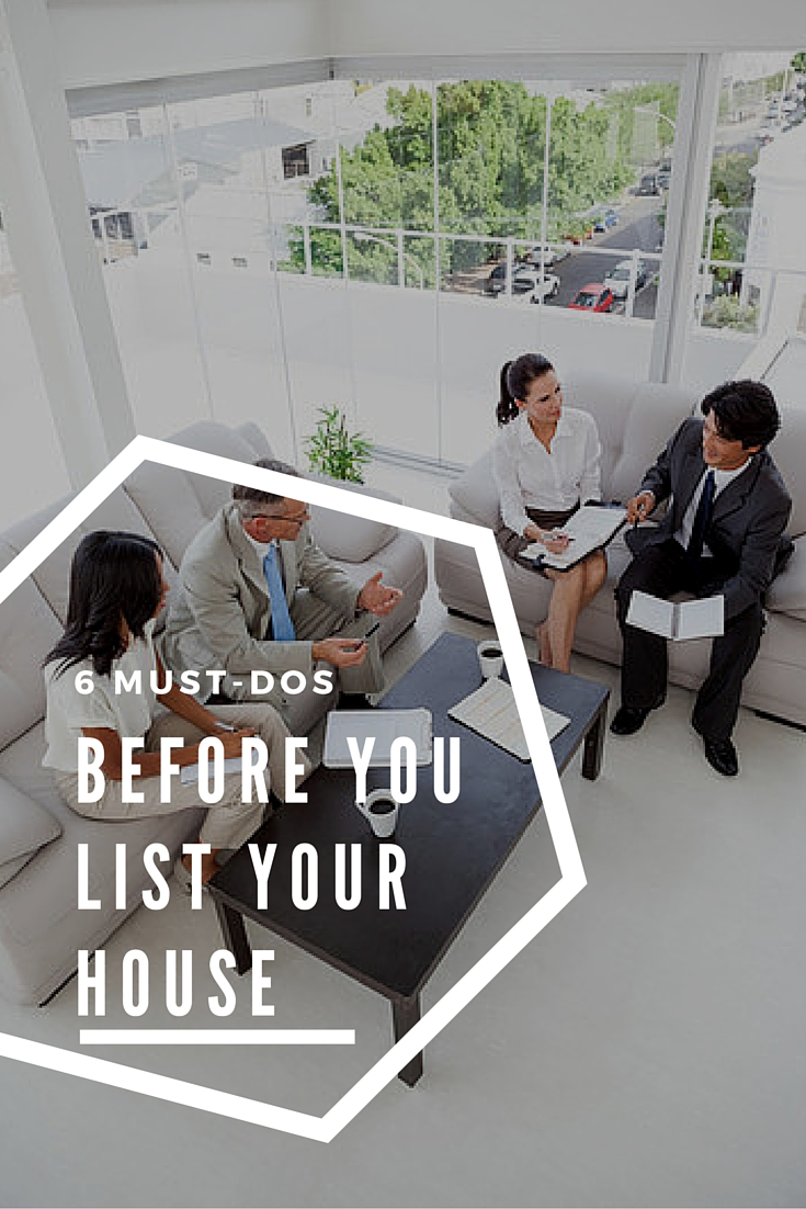 6 must dos before listing the house