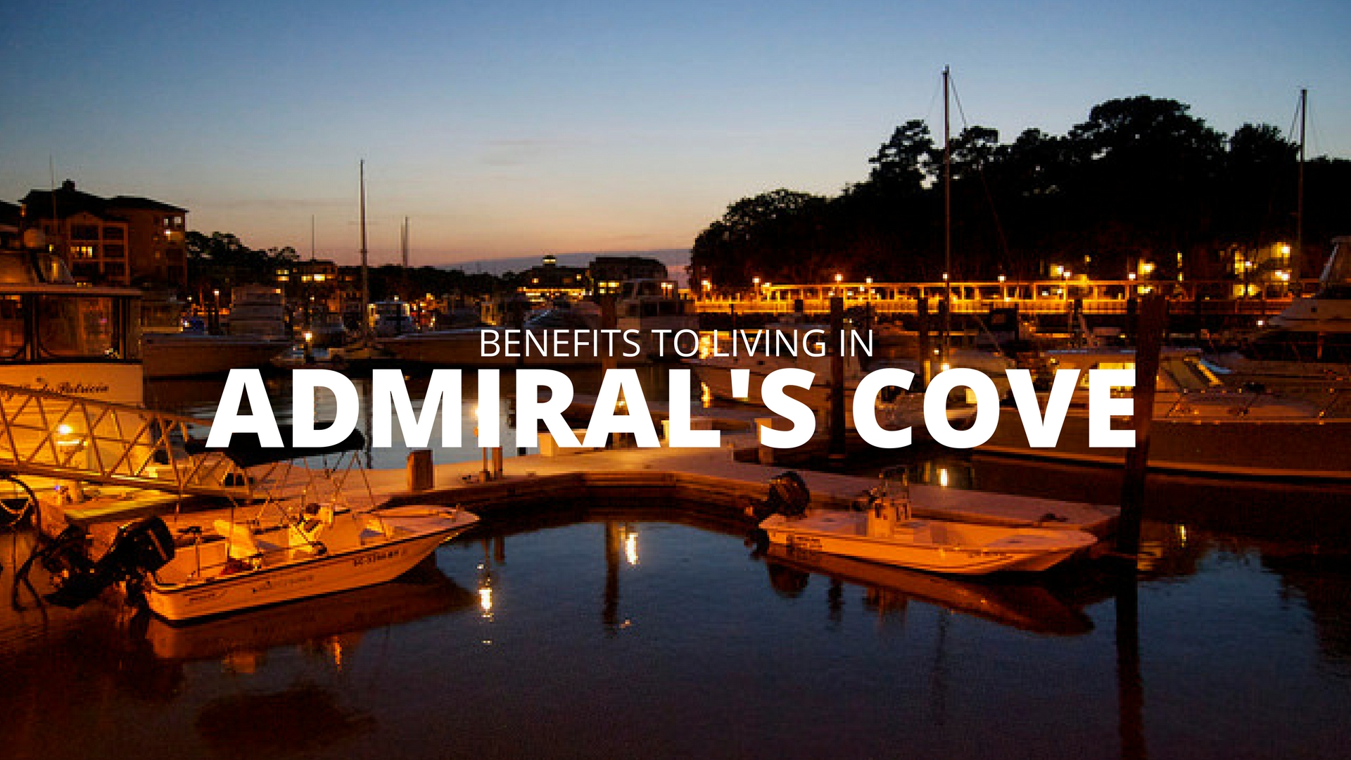 Admirals Cove Updates for Residents