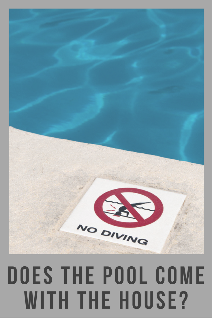 If I Buy a House, Can I Keep the In-Ground Pool?