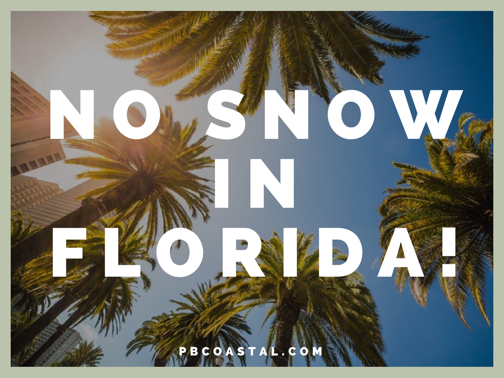 Florida is Only State with No Snow!