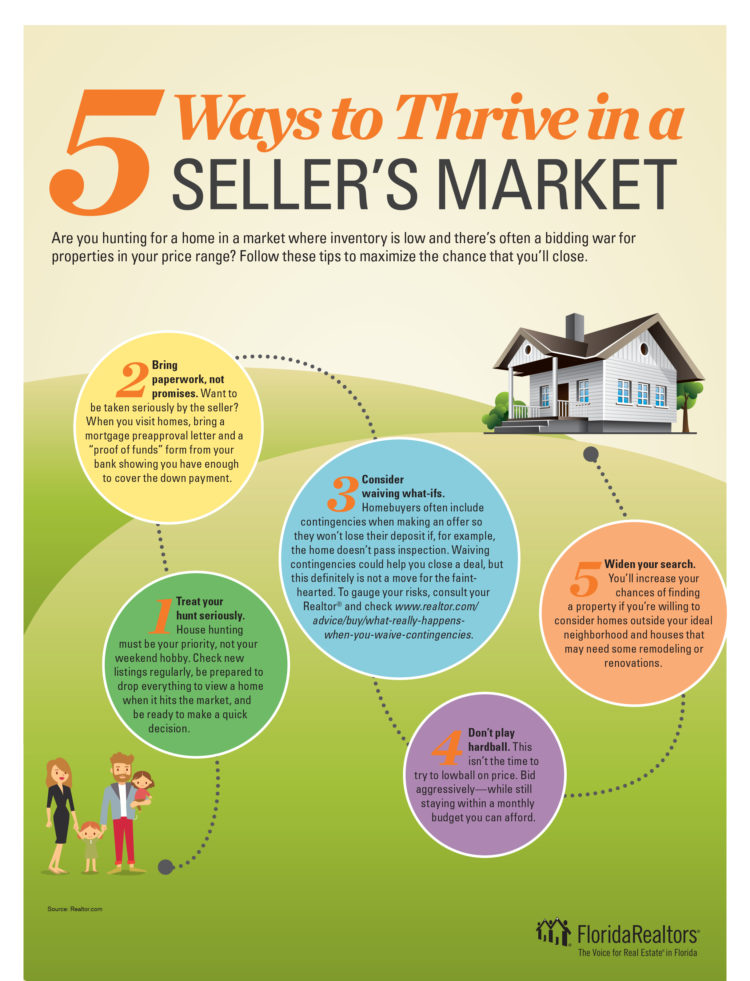 5 Ways to Thrive in a Seller's Market
