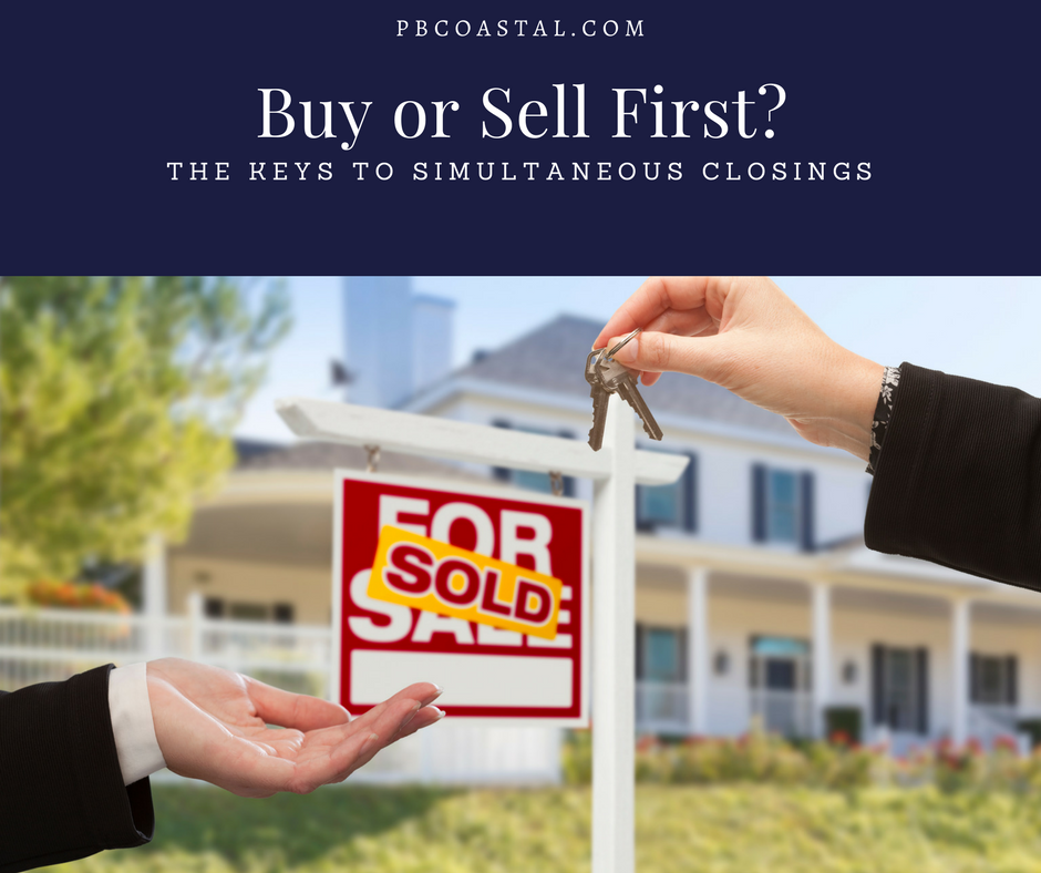 Should We Buy First or Sell First? | Simultaneously Closings