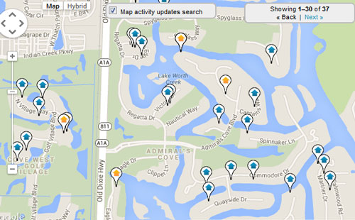 Admirals Cove Country Club Map Search for Homes