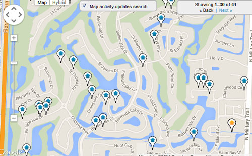 Ballenisles Map Search for Homes