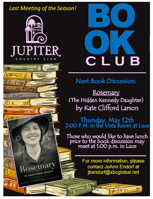 Jupiter country club book club