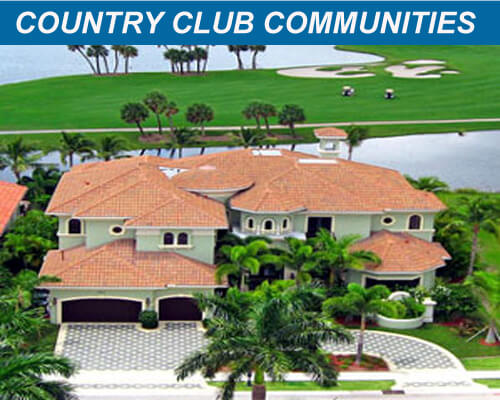 Palm Beach Country Club Communitites and Golf Communitites