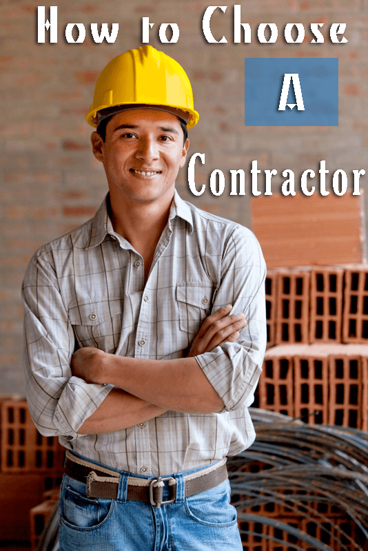 How to Chose a Contractor