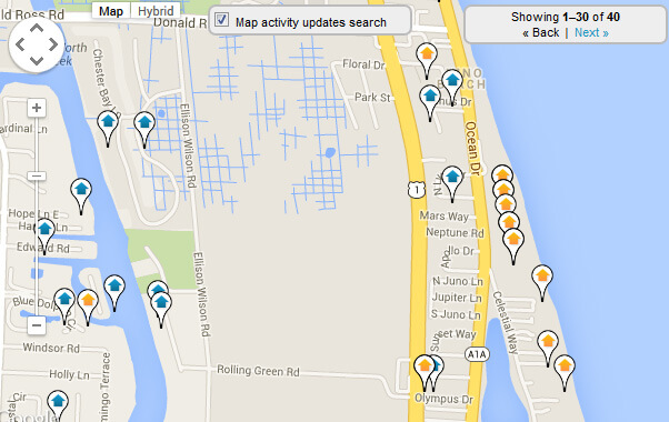 Juno Beach Map Search for Homes