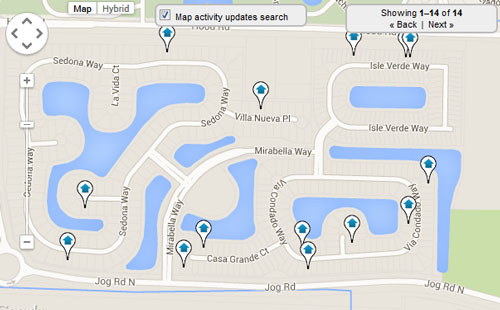 Mirabella at Mirasol Map Search for Homes