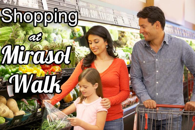Shopping at Mirasol Walk