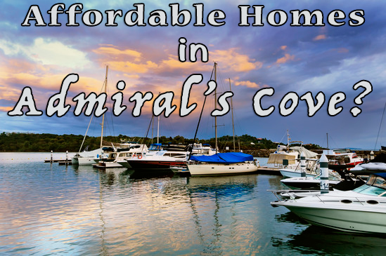 How much will $600,000 get you in Admiral's Cove