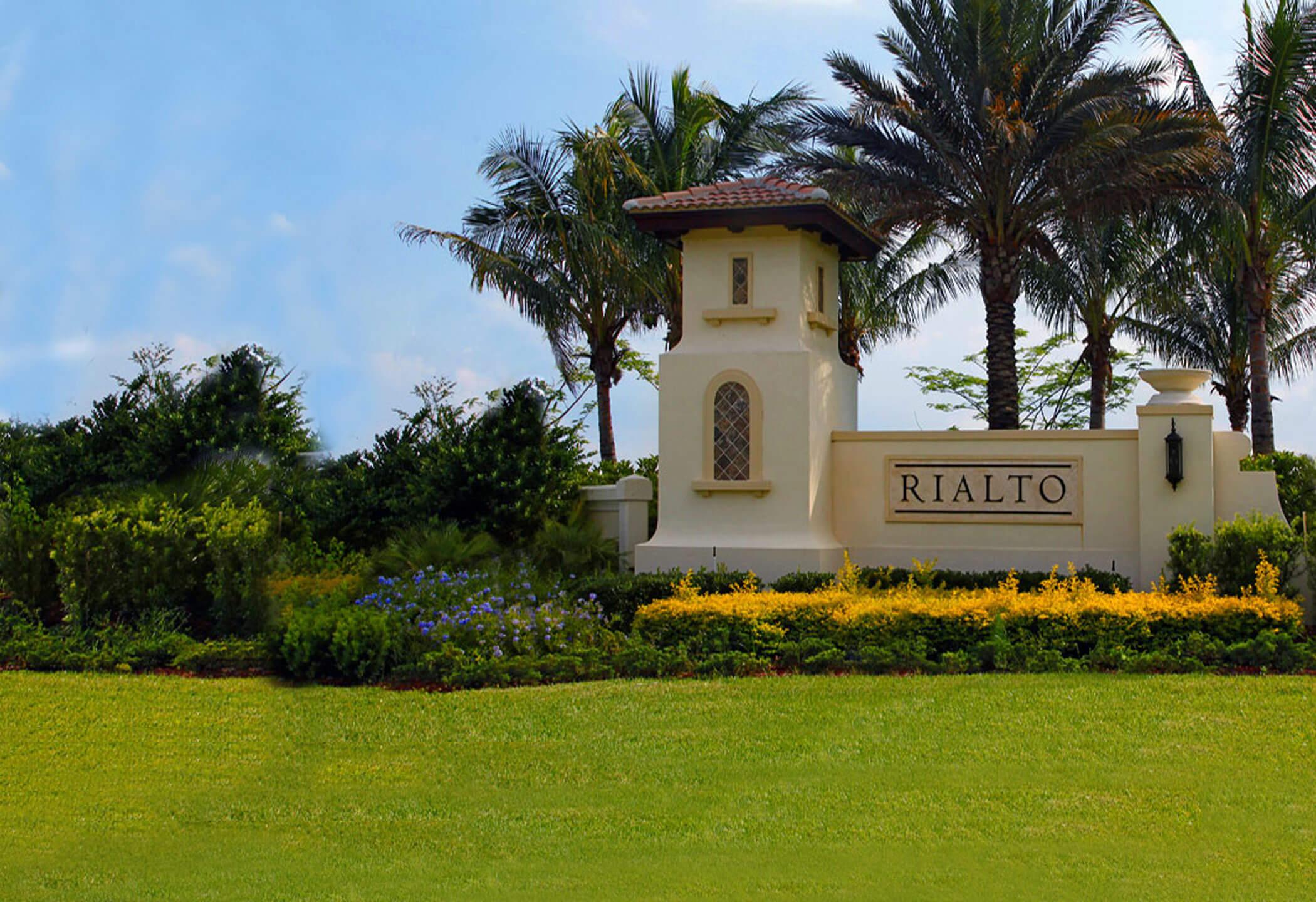Rialto Gated Homes Jupiter Florida